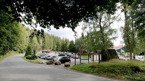 Parkplatz Thälchen in Schierke