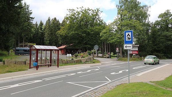 Bushaltestelle am Schierker Stern